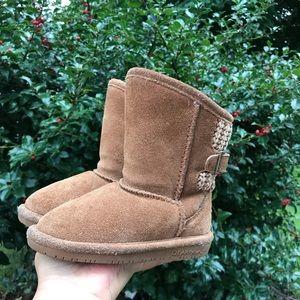 BearPaw toddler Girls Boots Sz 8